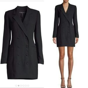 Bcbg MaxAzria Black Blazer Jacket Haden Dress XS